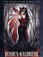 Enchanted World of Jessica Galbreth Art Book Fairy Faery Hardback NEW
