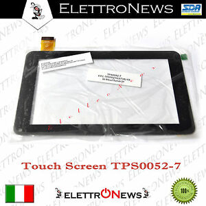 Touch screen ricambio tablet 7 pollici codice  TPS0052-7