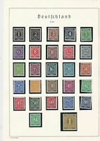 germany 1946 mint stamps page ref 17735