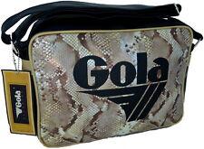 Borsa Tracolla Donna Gola Bag Women Redford Midi Snake Shimmer Black/Brn/Gold