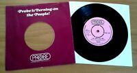 "BIRTHA My Man Told Me `VERY RARE` UK 1973 PROBE 7"" Psych Prog ROCK SINGLE EX+!!"