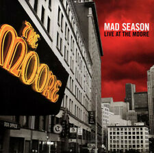 Mad Season - Live At The Moore 2 LP Vinyl Album Alice In Chains Pearl Jam Record