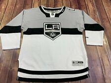 Los Angeles Kings Reebok White/Gray NHL Hockey Jersey - Youth L/XL