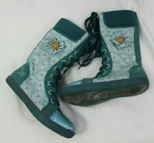 NAARTJIE toddler girls size 12 spring teal blue boots