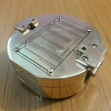 Nautical Antique Brass Vintage collectible Heavy HandMade Brunton compass