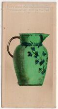 Antique 1839 10 Gallon Water Jug By Ayre N.Y. Pottery Ceramic 1920s Trade Card