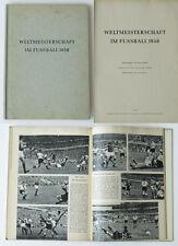 World Cup Fußball Weltmeisterschaft 1958 Bahr DFB Bericht 400 Fotos 192 Seiten