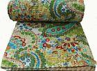 Indian+Handmade+Quilt+Vintage+Kantha+Bedspread+Throw+Cotton+Blanket+Ralli%21Gudari