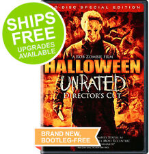 Halloween (DVD, 2009 Unrated Director's Cut) NEW, Sealed, Rob Zombie, Sheri Moon