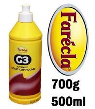 FARECLA G3 ADVANCED LIQUID COMPOUND 500ml (700g) DETAILING BODYSHOP AG3-700