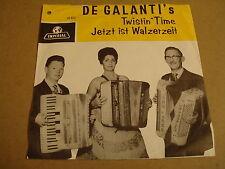 ACCORDEON 45T SINGLE IMPERIAL / DE GALANTI'S - TWISTIN' TIME