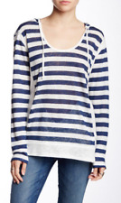Michael Stars Hooded Linen Pullover XS NWT $128