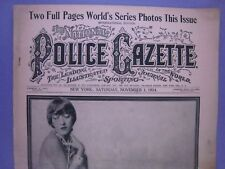 The National Police Gazette ...Nov. 1, 1924..World Series Photos,Walter Johnson+