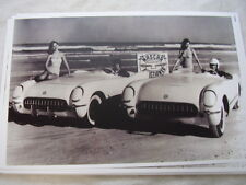 1953 CHEVROLET CORVETTES AT NASCAR  PACE CARS?  11 X 17  PHOTO  PICTURE