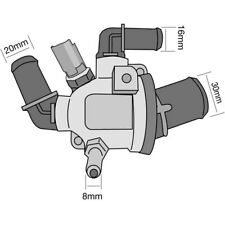 THERMOSTAT FOR FIAT PUNTO 1.3 D MULTIJET 199 (2005-2017)