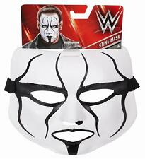 STING (WCW) Brand New WWE Mattel Wrestling Mask - Adjustable Sizing - FITS ALL