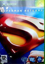 Superman Returns Jeu Xbox TBE - VF- Rare!!!