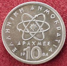 Greece 10 Drachma 1984 (D1703)