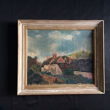 Huile sur Toile 1900 Signée/ 1900 Signed Oil On Canvas