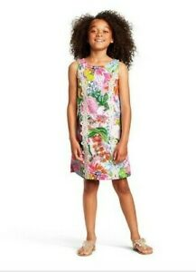 Lilly Pulitzer For Target Girl's Nosey Posey Shift Dress Size S Small 6/6X NWT