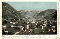 Bozen Italien Italia Bolzano Südtirol AK 1900 Gries Rosengarten Totale Panorama