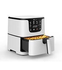 PureMate 5.5L Digital Air Fryer, Low Fat Oil Free - Timer & 7 Preset Modes 1700W