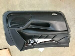NICE 11- 17 Infiniti M37 M56 Q70 Left Driver BLACK front Interior door Panel OEM