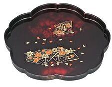 New Japanese Lacquer Urushi tray Sakura cherryblossom from japan