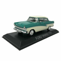 1:43 Scale Vintage Ford Taunus 17M Model Car Diecast Vehicle Collection Blue