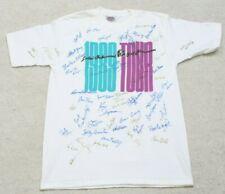 New Oneita White Tee T-Shirt Large 42-44 Vintage LPGA Signed 1989 Pro Golfers
