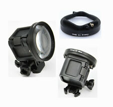 58mm Macro Close-Up Filter Set +10 For GoPro Hero 4 Session For GoPro Accessory