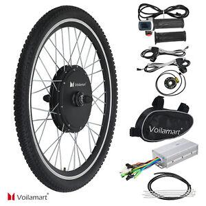 "Voilamart 48V1000W Electric Bicycle Motor Conversion Kit E-Bike Front Wheel 26"""