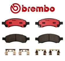 For Buick Chevrolet GMC Saab Front Brake Pad Set Ceramic With Shims Brembo