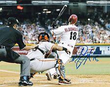 Willie Bloomquist Autographed 8x10 Photo AZ Diamondbacks (2)