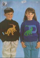 Tivoli Patterns 2085 & 2085 Childs Sweaters  20 to 32 inch chest (2) patterns