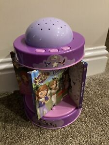 Princess Sofia Sweet Dreams Library & Night Light Projector, excellent condition