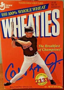 1995 RARE CAL RIPKEN, JR. WHEATIES CEREAL BOX (18 OZ)