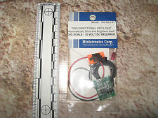 Model Rail Railroad & Electronics Two Directional Light Red G O 100-NL3-01