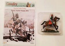 Del Prado Cavalry of the Napoleonic Wars Issue 31 Trooper Austrian Hussars 1814