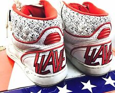 Slayer Vans Shoes Sneakers High Tops Basketball Metal Metallica White 11 1/2