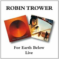 Robin Trower - For Earth Below - Robin Trower CD P5VG The Fast Free Shipping