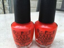 2 X OPI A GOOD MANDARIN IS HARD TO FIND  (NL H47)