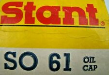 Stant Oil Cap SO 61 (GREY COLOR); fits Various 1946-1968 American Antique Veh.