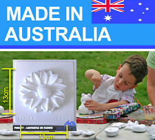 Ladybeetle on Flower Plaster Mould/Mold/Moulds/Molds 2277