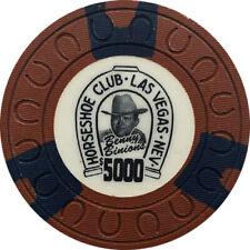 $5000 Horseshoe Casino Las Vegas Benny Binion Chip