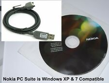 Genuine Nokia CA-53 USB Data Sync Cable & Software CD Rom for Nokia Phones