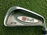 Wilson Staff FatShaft 6 Iron / RH / Wide Body Regular Steel / Nice Club / mm8627