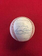 1962 Minnesota Twins Team Signed Baseball - Autographed Killebrew, Kaat, Battey