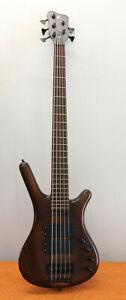 2007 WARWICK CORVETTE $$ NT neck through 5 String Bass Guitar Germany