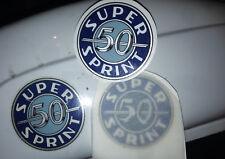 VESPA TOOLBOX embleme Aufkleber Wasserschieber SS 50 S.SPRINT Super Sprint Logo